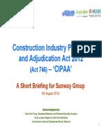 CIPAA2012 ACT Briefing