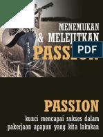 Menemukan Dan Melejitkan Passion