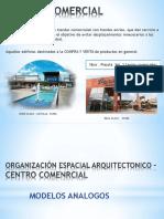 Organización Espacial Arquitectónico – C.C