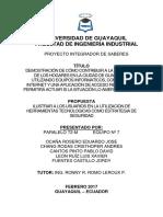 Proyecto Pis Seguridad Remota