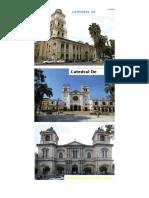 Catedrales de Bolivia