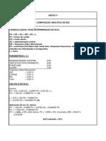 Anexo v - Cálculo Do BDI