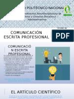 Comunicación Escrita Profesional