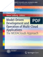 Model-Driven Development and Operation of Multi-Cloud Applications