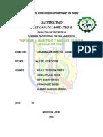Informe de Contaminacion