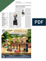El Mercurio _ ARTES Y LETRAS_ Página 11 _ Domingo, 21 de Mayo de 2017