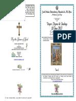 2017 18 June 2ap 2matt Vesphymns St Leontios