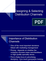 1. Designing & Selecting Distribution Channels
