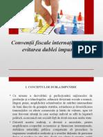Conventii Fiscale Internationale Si Evitarea Dublei Impuneri