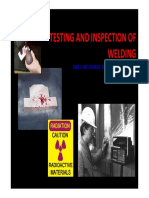 Testing and Inspection of Welding [Compatibility Mode]