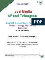 Eamcet Bipc Botony,Zoolozy,Phisics and Chemistry Model Paper4