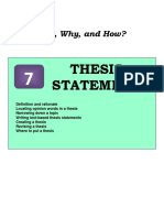 7 Thesis