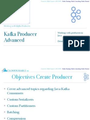 5 Kafka Producer Advanced | Data Buffer | Transmission
