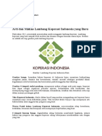 Arti Dan Makna Lambang Koperasi Indonesia Yang Baru