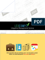 Litigation Management Solution - LexComply