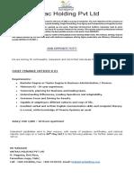 Job Announcment - Cfo (1)