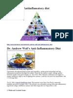 antiinflamatorna ishrana