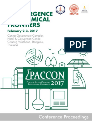 PACCON2017 Proceedings | Adsorption | Thailand