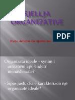 Sjellja Organizative