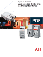 Abb at Analogue Time Switch