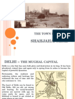 Planning of Shahjahanabad