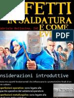 Bollasina - Difetti in Saldatura e Come Evitarli (2017)