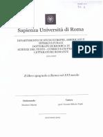 Marini Il Libro Spagnolo a Roma Nel XVI Secolo
