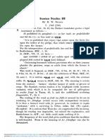 (1934) Bailey, Iranian Studies III, BSOS 7 (2) 275-298