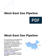 Case Study East West Pipeline