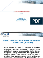Engine Components- Unit I New