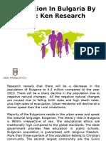 Bulgaria Economy Analysis,Bulgaria Urban Population-Ken Research
