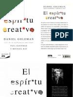 El Espíritu Creativo - Daniel Goleman.pdf
