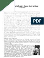 La Fisica Degli Ufo ed il Fisico Degli Ufologi - di Prof. Corrado Malanga, luglio 2010
