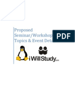 Bringing Linux knowledge closer to Colleges and Schools @ iwillstudy.com