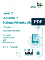 BA Chapter 1 Managing Personal Performance and Development Resource Wo...