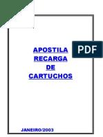 Apostila Recarga de CartuchosORIGINAL