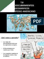 T. 8 Los Descubrimientos Geograficos y El Imperio Americano