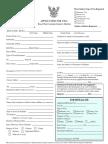 Thai Visa Form