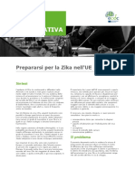 Zika Virus EU Policy Briefing Italiano