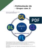 Grupo Consonantal l