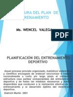 Capacitacion Estructura Del Plan de Entrenamiento