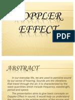 Doppler Effect t Harish