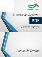 Generando Reportes