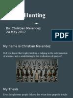 christian melendez - assignment 10 - power point presentation