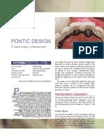 20 Pontic Design