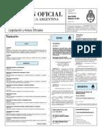Boletin Oficial 26-07-10 - Primera Seccion