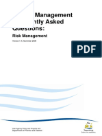 Risk Management FAQ