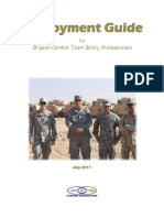 Deployment Guide for Brigade Combat Team Safety Professionals