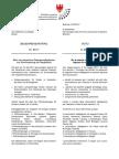 Nein zum neuen Impfdekret - Nein zu den Zwangsmaßnahmen und zur Aufstockung der Impfpflicht Begehrensantrag im Landtag