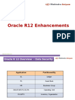Mahindra Satyam - Oracle EBS R12 Enhancements